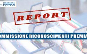 REPORT RIUNIONE COMMISSIONE CENTRALE RICOMPENSE DEL 13 NOVEMBRE 2019