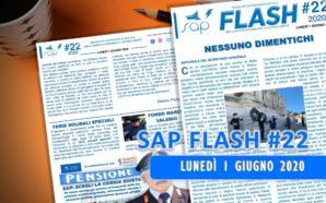 SAP FLASH NR. 22 DEL 1 GIUGNO 2020