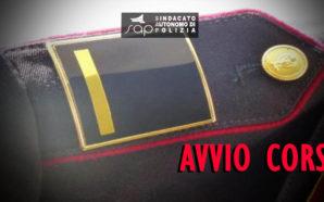 AVVIO 27° CORSO DI FORMAZIONE VICE SOVRINTENDENTE