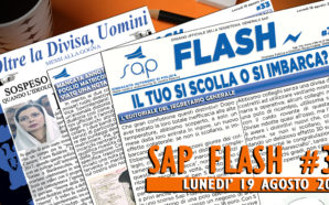 SAP FLASH NR° 33 DEL 19 AGOSTO 2019