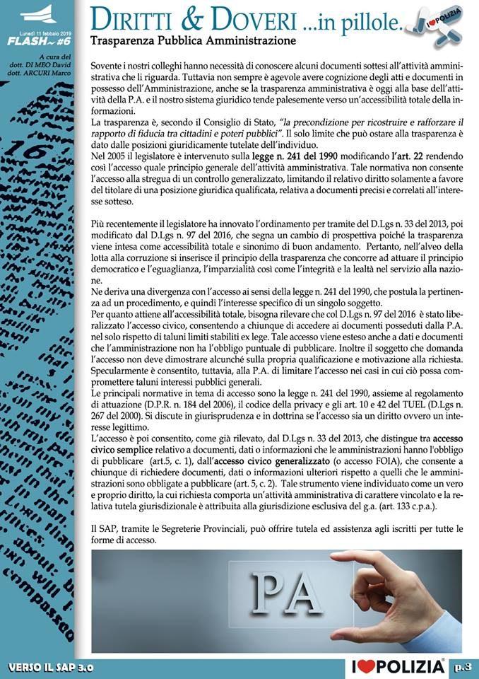 TRASPARENZA PUBBLICA AMMINISTRAZIONE