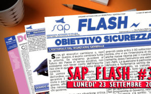 SAP FLASH NR° 38 DEL 23 SETTEMBRE 2019