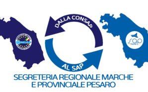 SEGRETERIA REGIONALE MARCHE E PROVINCIALE DI PESARO CONSAP, CONFLUISCONO INTERAMENTE…
