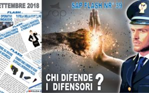 SAP FLASH NR° 39 DEL 24 SETTEMBRE 2018
