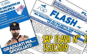 SAP FLASH NR° 28 DEL 15 LUGLIO 2019