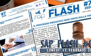 SAP FLASH N° 07 DEL 17 FEBBRAIO 2020