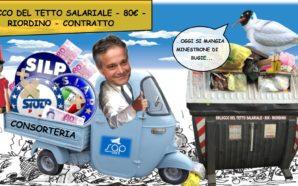 ECCO IL CARRO DEI CONSORTIERI. #MENO80EURO