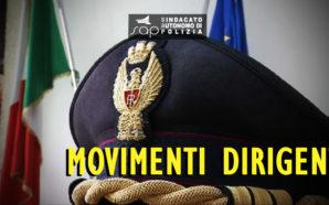 VELINA MOVIMENTI DIRIGENTI POLIZIA DI STATO