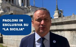 """STEFANO PAOLONI IN ESCLUSIVA SUL QUOTIDIANO """"LA SICILIA"""""""