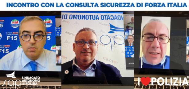 INCONTRO CON LA CONSULTA SICUREZZA DI FORZA ITALIA