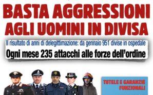 BASTA AGGRESSIONI AGLI UOMINI IN DIVISA: MANIFESTAZIONE NAZIONALE, ROMA 14…