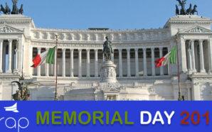 Memorial Day 2017: domani la cerimonia conclusiva all'Altare della Patria