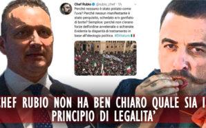CHEF RUBIO NON HA BEN CHIARO QUALE SIA IL PRINCIPIO…
