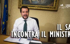 IL SAP INCONTRERA' IL MINISTRO DELL'INTERNO MATTEO SALVINI