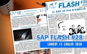 SAP FLASH NR. 28 DEL 13 LUGLIO 2020