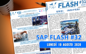 SAP FLASH NR. 32 DEL 10 AGOSTO 2020
