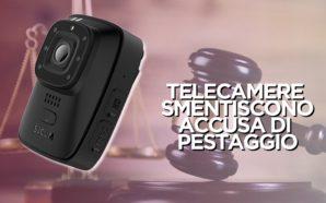 ACCUSA POLIZIOTTI DI PESTAGGIO, MA TELECAMERE LO SMENTISCONO