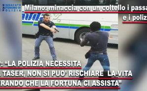 """NIGERIANO ARMATO DI COLTELLO, FERMATO DALLA POLIZIA. IL SAP: """"E'…"""