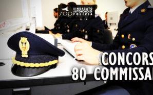 CONCORSO 80 POSTI DA COMMISSARIO: PUBBLICAZIONE GRADUATORIA.