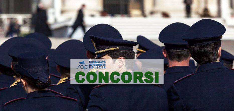 CONCORSO 130 COMMISSARI POLIZIA
