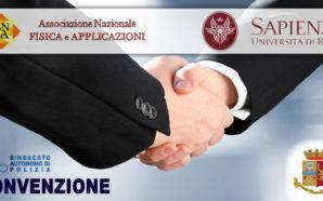 CONVENZIONE FONDO ASSISTENZA POLSTATO E ANFEA CON L'UNIVERSITA' DI ROMA…