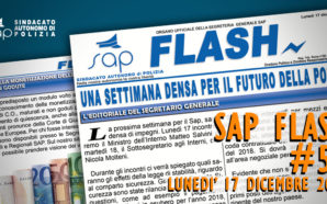 SAP FLASH NR° 51 DEL 17 DICEMBRE 2018