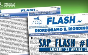 SAP FLASH NR° 16 DEL 22 APRILE 2019
