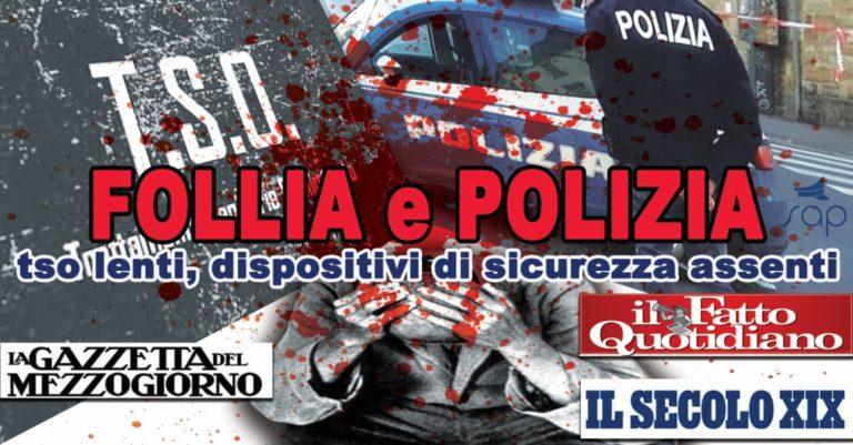 Dopo la tragedia di Genova le reazioni dei sindacati di polizia che chiedono protocolli operativi chiari e nuove dotazioni