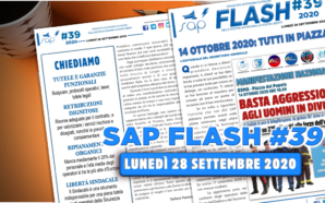 SAP FLASH NR.39 DEL 28 SETTEMBRE 2020