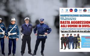 MANIFESTAZIONE NAZIONALE 14 OTTOBRE 2020: IL SAP ACCOGLIE LE RICHIESTE…