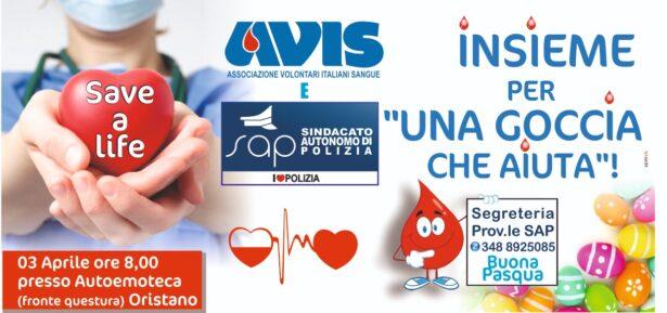 donazione sangue sap Oristano