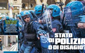 INCHIESTA SUL DISAGIO CHE VIVONO LE FORZE DI POLIZIA. IL…