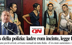"""ROM E GRAVIDANZA PER NON FINIRE IN CARCERE: """"ESCONO DAGLI…"""