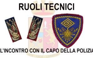 PROGETTO DI REVISIONE RUOLI TECNICI, L'INCONTRO COL CAPO