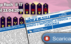SAP FLASH NR° 17 DEL 23.04.2018