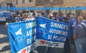 Il SAP PRESENTE ALLA MANIFESTAZIONE DI PROTESTA DEL SAPPE DAVANTI…