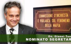 L'ON. GIANNI TONELLI SEGRETARIO DELLA COMMISSIONE PARLAMENTARE ANTIMAFIA. L'AUGURIO DI…