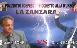 FAVILLE A LA ZANZARA TRA GIANNI TONELLI E DAVID PARENZO