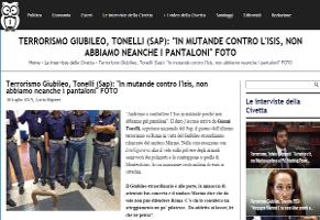 Terrorismo-Giubileo-Tonelli-Sap-In-mutande-contro-l39Isis-non-abbiamo-neanche-i-pantaloni-INTELLIGONEWS