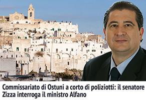 Commissariato-di-Ostuni-a-corto-di-poliziotti-il-senatore-Vittorio-Zizza-interroga-il-ministro-Alfano