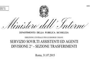 Trasferimenti-Sovrintendenti-e-AssistentiAgenti-circolari-ministeriali